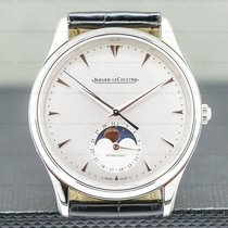Jaeger-LeCoultre Master Ultra Thin Moon Steel 39mm Silver United States of America, Massachusetts, Boston