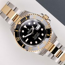 Rolex Sea-Dweller Acero y oro 43mm Negro