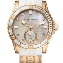 Ulysse Nardin Lady Diver Rose gold Mother of pearl United States of America, Florida, North Miami Beach