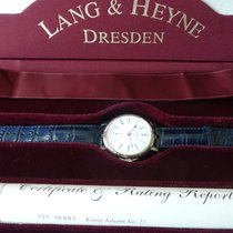 Lang & Heyne White gold 43,5mm Manual winding lang &. Heyne king Johann new