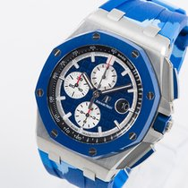 Audemars Piguet Royal Oak Offshore Chronograph Steel 44mm Blue