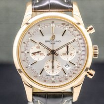 Breitling Transocean Chronograph Rose gold Silver United States of America, Massachusetts, Boston