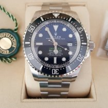 Rolex Sea-Dweller Deepsea Acier 44mm Bleu Sans chiffres Belgique, Bruxelles