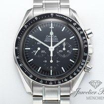 Omega Speedmaster Professional Moonwatch Zeljezo 42mm Crn Bez brojeva