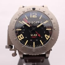 U-Boat U-42 Titanium 50mm Black