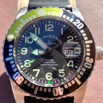 Zeno-Watch Basel usados Automático 45mm Negro