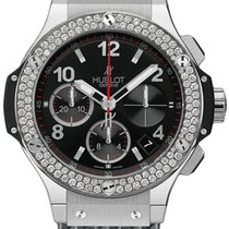 Hublot Big Bang Stahl Kautschuk Diamond 1,18ct Automatik...