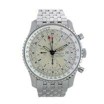 Breitling Navitimer World neu 2015 Automatik Chronograph Uhr mit Original-Box und Original-Papieren A24322