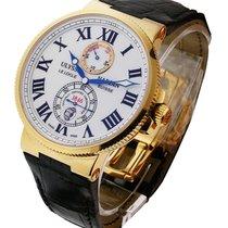 Ulysse Nardin 266-67/40 Maxi Marine Chronometer 43mm in Rose...