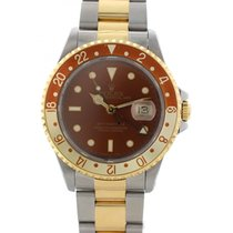 Rolex Oyster Perpetual Date GMT Master II 16713 Root Beer
