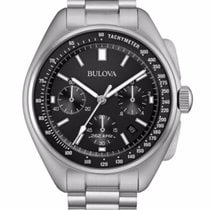 Bulova Frequency Apollo 15 Moonwatch LUNAR PILOT  Steel Bracelet