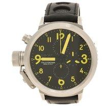 U-Boat Black Flight Deck Chronograph Automatic Men's Wristwatc...