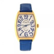Franck Muller Cintree Curvex Sunset 18k Yellow Gold Automatic...