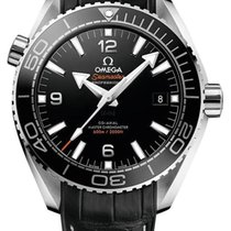 Omega Seamaster Planet Ocean Steel 43.5mm Black Arabic numerals United States of America, New York, New York