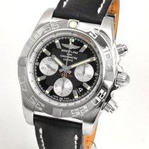 Breitling Chronomat 44 Stahl 43.5mm Schwarz Deutschland, Teuschnitz