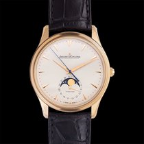 Jaeger-LeCoultre Master Ultra Thin Moon Rose gold 39.00mm Champagne United States of America, California, San Mateo