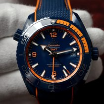 Omega Seamaster Planet Ocean Big Blue 600M GMT NEW