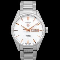 TAG Heuer Carrera Calibre 5 Steel 41mm Silver United States of America, California, San Mateo