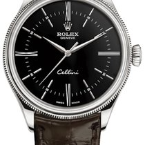 Rolex Cellini Time White gold 39mm Black United States of America, New York, Airmont