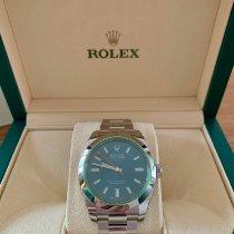 Rolex Milgauss neu 40mm Stahl