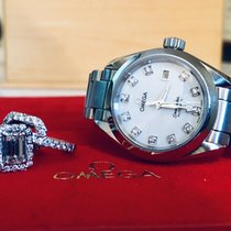 Omega Steel 29mm Automatic Seamaster pre-owned