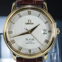 Omega De Ville Prestige Red gold 36.5mm White Roman numerals