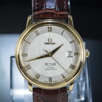 Omega De Ville Prestige Or rouge 36.5mm Blanc Romain