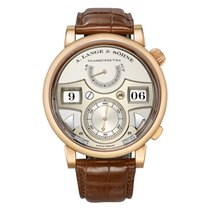 A. Lange & Söhne 145.032 Rose gold 2015 Zeitwerk 44.2mm pre-owned United States of America, Connecticut, Greenwich