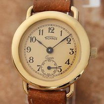 Technos Gold/Steel 23mm Quartz pre-owned United States of America, California, Beverly Hills