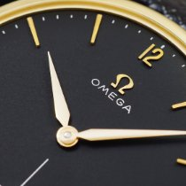 Omega Yellow gold 34,5mm Manual winding 14715 61 OMEGA 14K black pre-owned