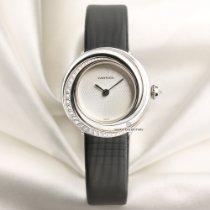 Cartier Trinity Oro blanco 27mm