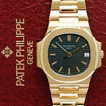 Patek Philippe 3800 Or jaune 1993 Nautilus 37mm occasion