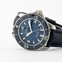 Blancpain Fifty Fathoms Titanium 45mm Blue Arabic numerals United States of America, New Jersey, Oradell