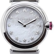 Bulgari Lucea Steel 28mm Mother of pearl No numerals