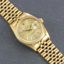 Rolex Datejust Yellow gold 36mm Gold No numerals United States of America, New York, New York