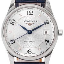 Longines Master Collection pre-owned 36mm Leather