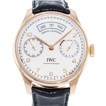 IWC Portuguese Annual Calendar Rose gold 44mm Silver United States of America, Georgia, Atlanta