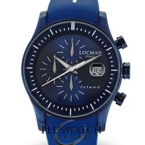 Locman Island Steel 40mm Blue
