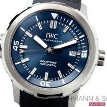 IWC Aquatimer Automatic Stahl Blau Keine Ziffern Deutschland, München