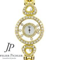 Chopard Happy Diamonds Yellow gold 27mmmm White