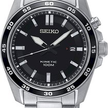 Seiko Kinetic Black