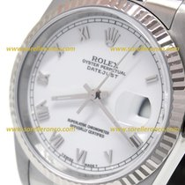 Rolex Datejust 36mm Roman White Ref. 16234