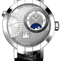 Harry Winston Premier White gold 41mm Silver United States of America, New York, Airmont