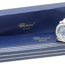 Chopard HAPPY SPORT Ladies Quartz Watches Diamond Moon Blue...