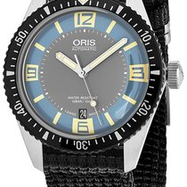 Oris Divers Sixty Five Steel Blue United States of America, New York, Brooklyn