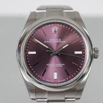 Rolex Red Grape Rare Dial Oyster Perpetual - w/ Papers Clean