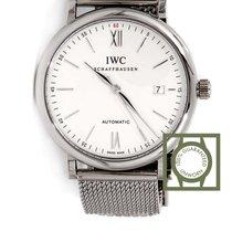IWC Portofino Automatic 40mm Full Steel Silver Dial NEW