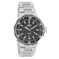Oris Pro Diver Mens Titanium Swiss Automatic Watch 73376827154MB