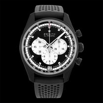 Zenith El Primero Chronomaster Aluminum 42.00mm Black United States of America, California, San Mateo