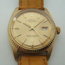Rolex Oyster Datejust Automatic En Or 18k  Ref 1607 De 1974